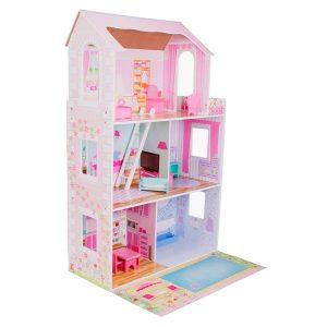 Casa de muñecas grande para niñas con 3 Pisos