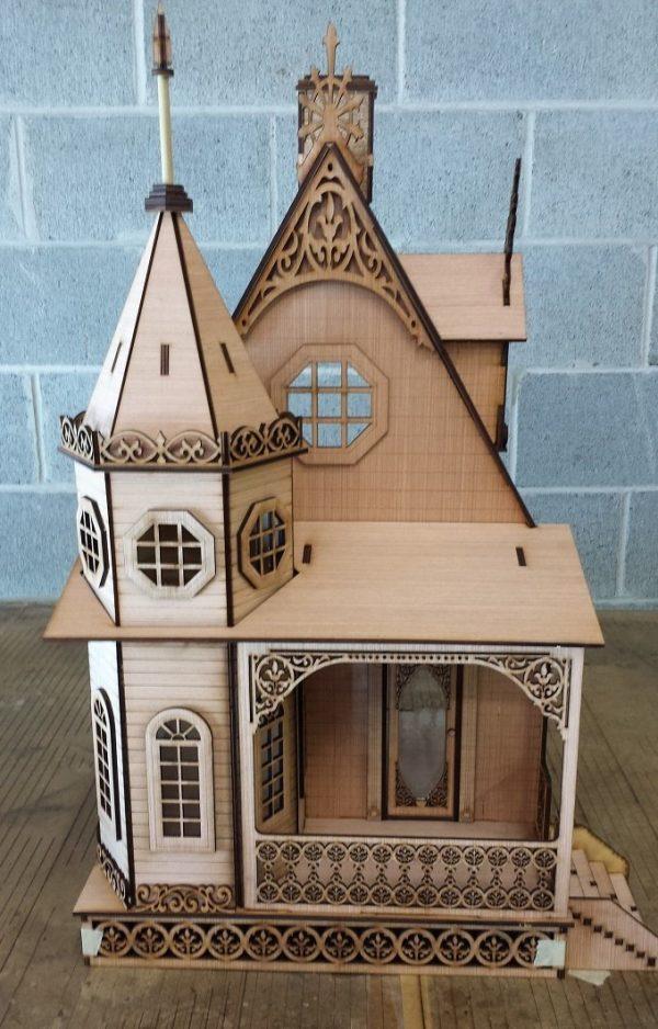 casa muñecas estilo Gótico Victoriano