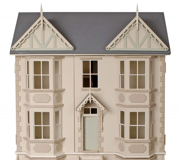 casa victoriana de muñecas