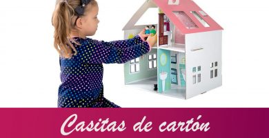 casitas de muñecas de carton