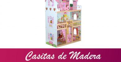 casitas de muñecas de madera