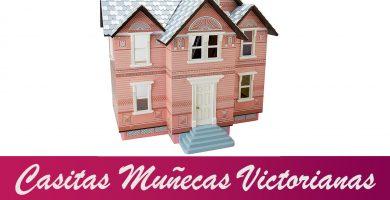 casitas de muñecas victorianas