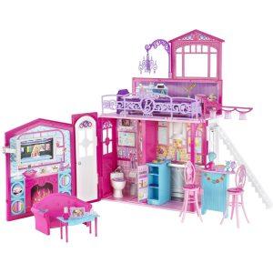 Barbie Casa muñecas de vacaciones Glam