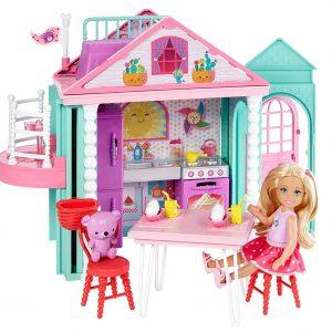 Barbie Chelsea, casa de muñecas