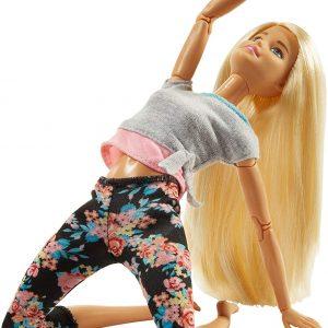 Barbie Fashionista Made to Move rubia