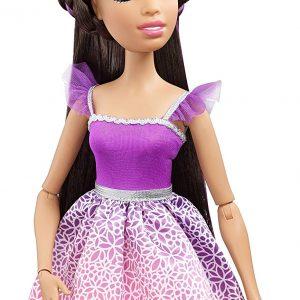 Barbie - Muñeca princesa del Reino de los peinados mágicos
