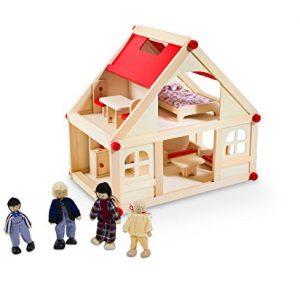Casa de Muñecas de madera pequeña