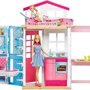 Casa de muñecas Barbie dos pisos