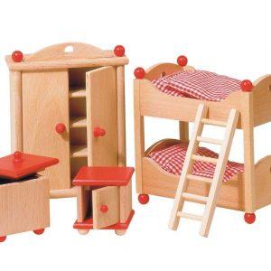 Mueble para casa de muñecas