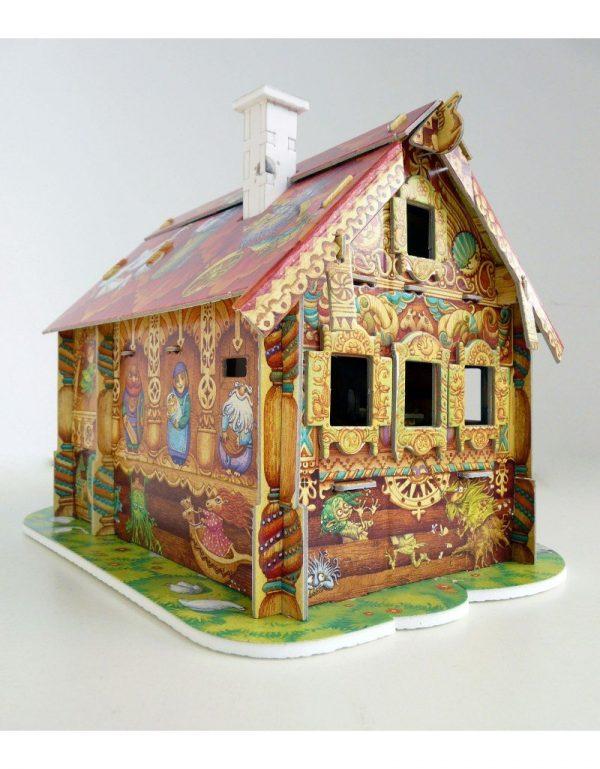 Puzzles 3D Mi Primera casa de muñecas