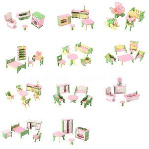muebles para casas de muñecas